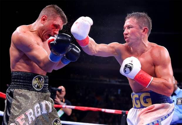 Украинский боксер почти перебил Головкина вСША. Фанаты считают, что уДеревянченко украли победу