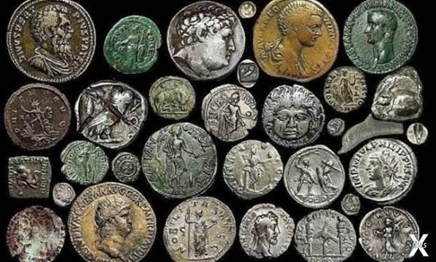 Древние монеты Греции и Рима