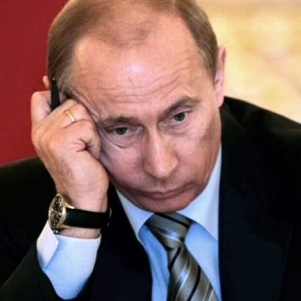 Путина начали мочить и мундиалью
