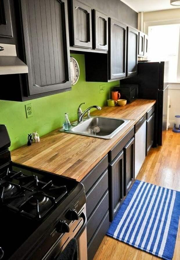 Отличное решение преобразить интерьер кухни, что станет просто находкой при оформлении дома.