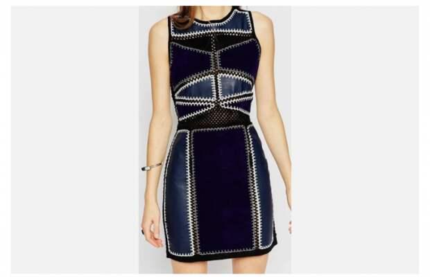 Невязаное платье