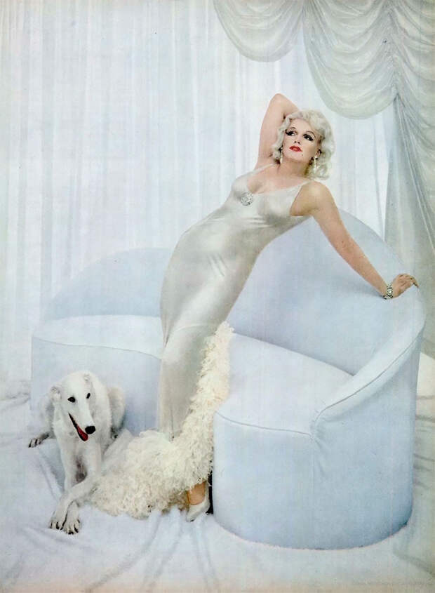 Фотосессия Мэрилин Монро, в которой она изображает других актрис