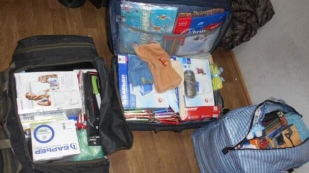 Семь рюкзаков товаров без декларации нашли у украинца на таможне в Донецке