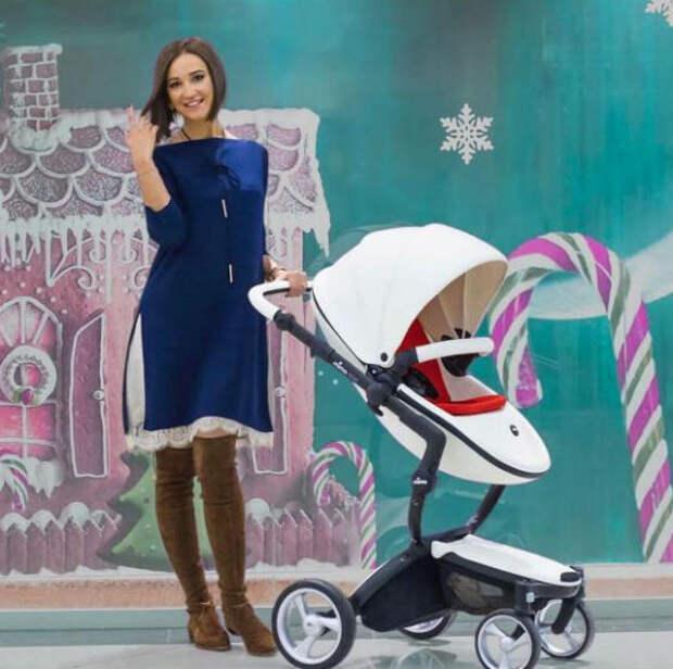Фото Бузовой с детской коляской произвело настоящий фурор