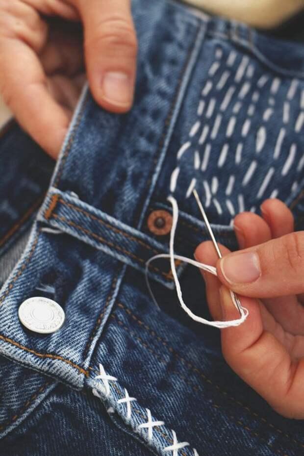 Необычные джинсы (подборка)