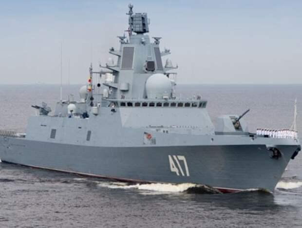«Адмирал Горшков» продолжит испытание нового ракетного оружия