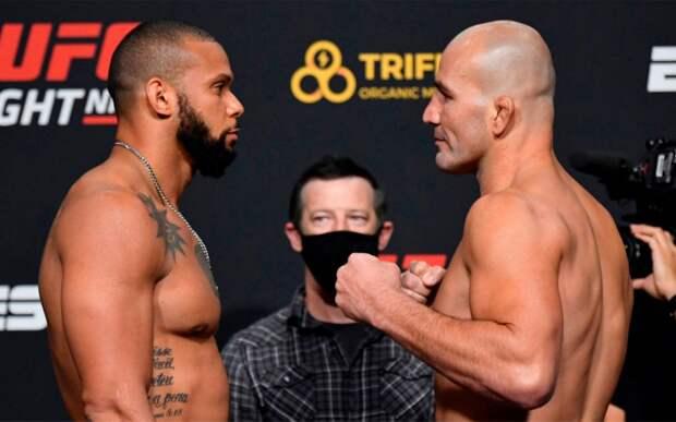 Сантос и Тейшейра показали одинаковый вес, Орловский на 5 кг перевесил Босера перед турниром UFC Vegas 13