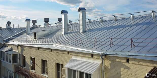 Крышу дома на улице Советской Армии отремонтировали – «Жилищник»