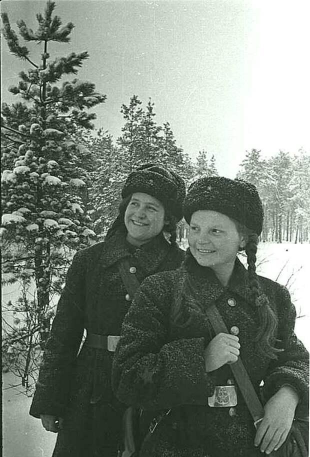 Медсёстры морской пехоты. Великая Отечественная война, СССР, история