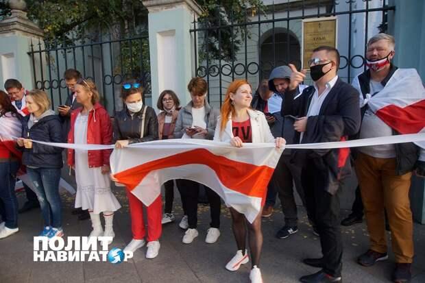 «На митингах против Лукашенко в Москве нет ни одного белоруса»