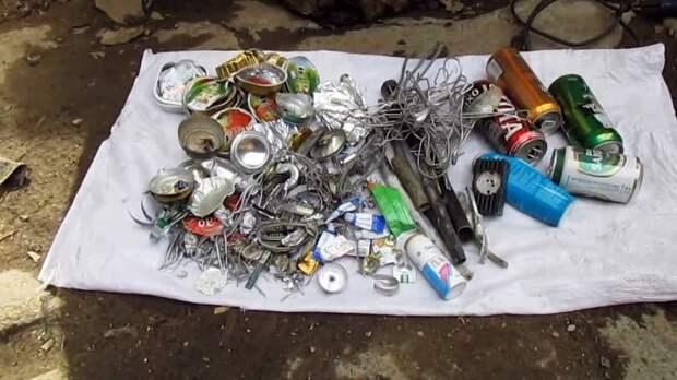 Как переплавить алюминиевые банки в болванки и сколько на этом можно заработать