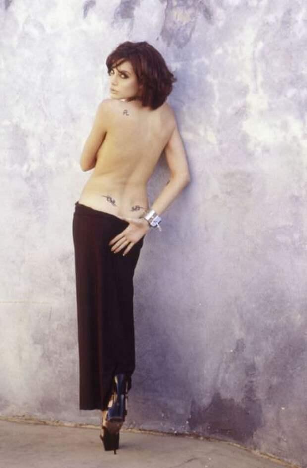 Анджелина Джоли двадцать лет назад