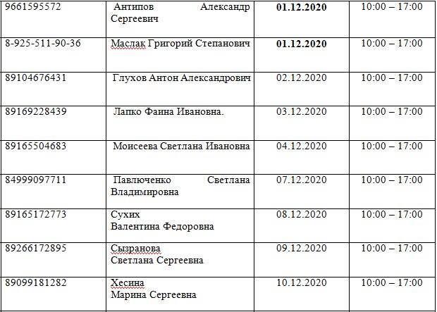 Жители Лианозова могут прийти на прием к депутатам с 1 по 10 декабря