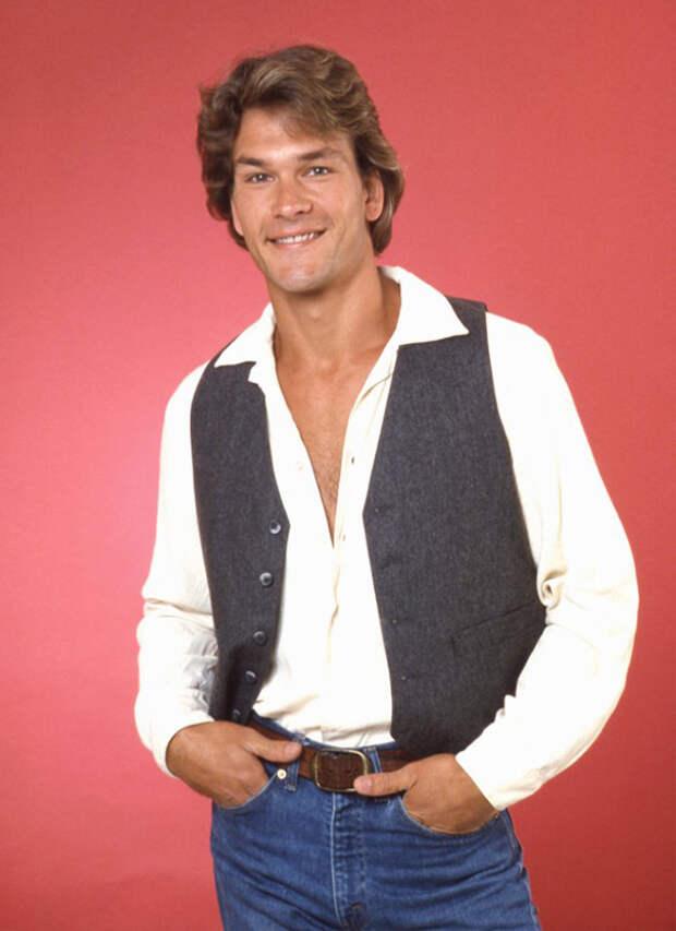Патрик Суэйзи в далеком 1982 году Патрик Суэйзи, голливуд, кино, фото