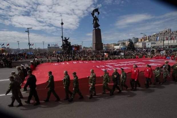 В центре города пройдет 8 репетиций парада Победы