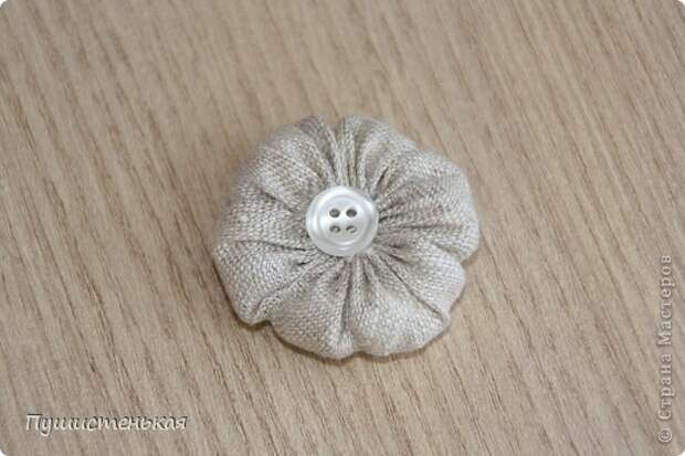 Покажу как я делала этот цветок.. Фото 11