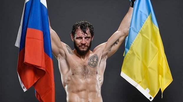 Крылов после победы натурнире UFC вБразилии выложил фото сфлагами России иУкраины