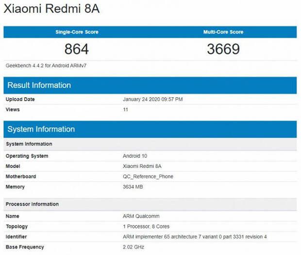 Xiaomi готовит Android 10 для хитового недорогого Redmi