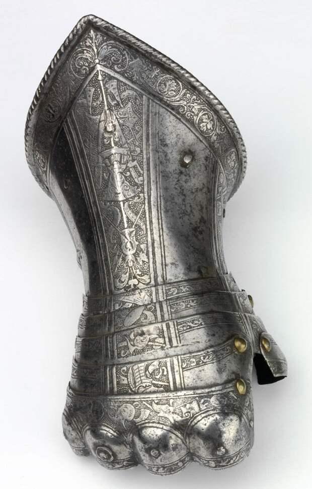2. Рыцарская перчатка. Сталь. Северная Италия, 1580 год. искусство, история, факты