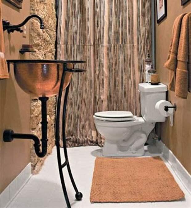 добавьте элементы роскоши в вашу ванную комнату