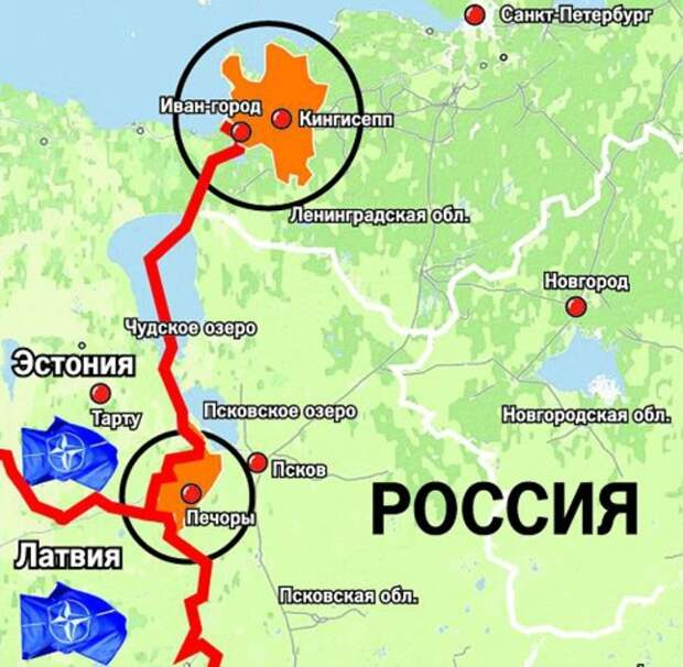 Спикер парламента Эстонии заявил о территориальных претензиях к России