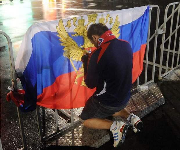 Петиция за роспуск сборной России по футболу набрала рекордные показатели