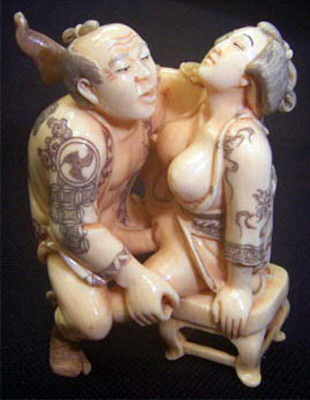 Японские эротические нэцкэ 18+++ (Просьба убрать нервных от дисплея)