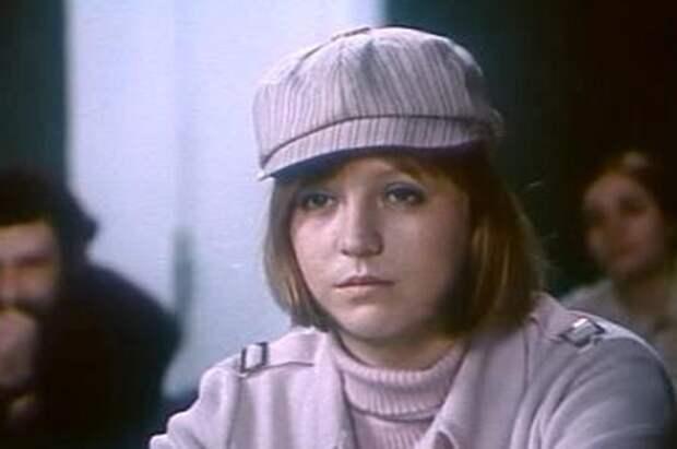Светлана Крючкова в своем первом громком фильме.