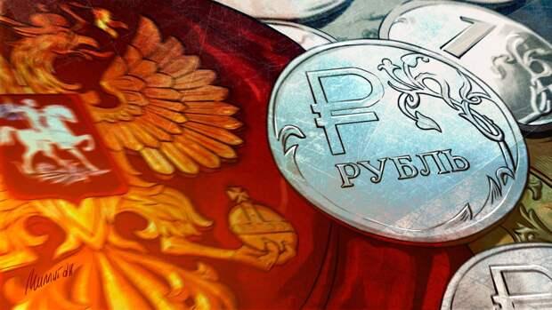 Укрепления рубля может замедлить рост цен на продукты в России