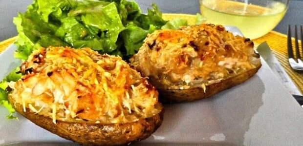 Фаршированный картофель в духовке: прекрасное блюдо для всей семьи