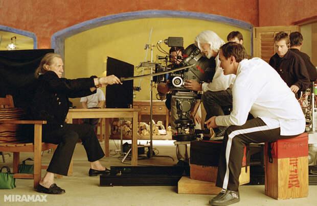 Фотографии со съемок  фильма «Убить Билла».