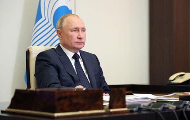 Путин раскритиковал новое правительство Афганистана