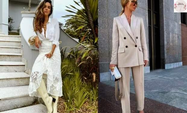 Элегантные, актуальные и необходимые правила современного и стильного гардероба для дам любого возраста: нежная весна 2021