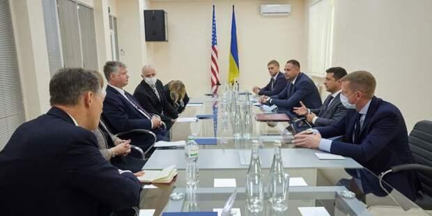 Заместитель Помпео на встрече с Зеленским: США являются стратегическим партнером Украины - ТЕЛЕГРАФ