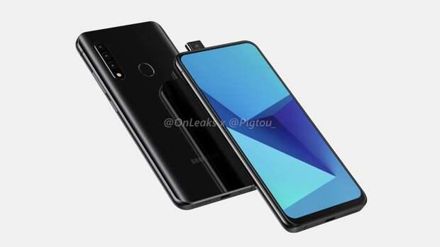 В сети появились рендеры особенного смартфона компании Samsung