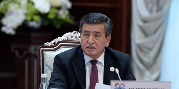 Президент Киргизии провел встречу с Козаком