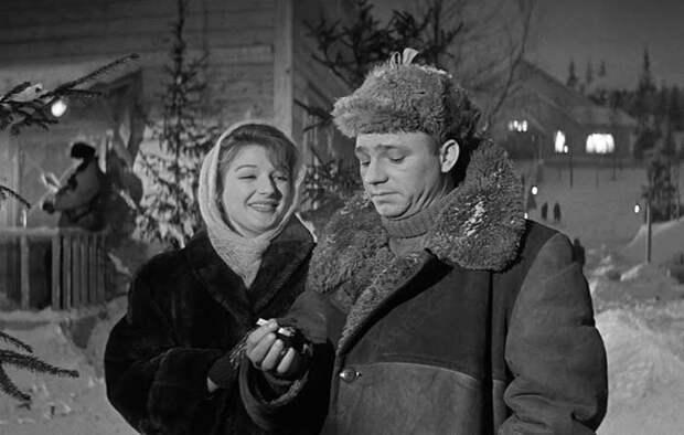 Светлана Дружинина и Николай Рыбников в фильме «Девчата», 1961 г.