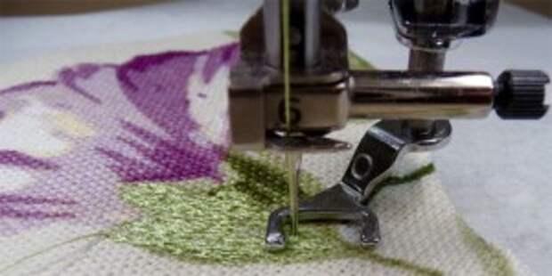 Работаем с лапками: Свободно-ходовая вышивка