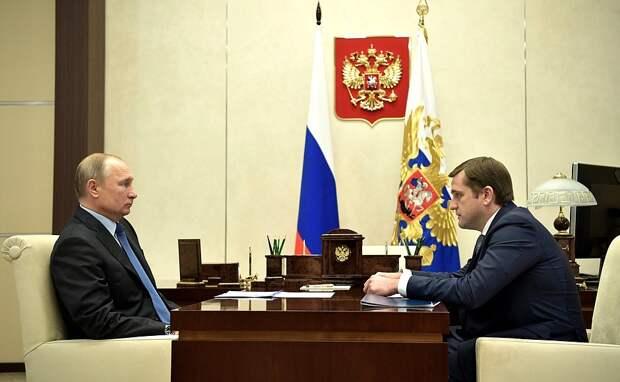 Встреча с руководителем Федерального агентства по рыболовству Ильёй Шестаковым.