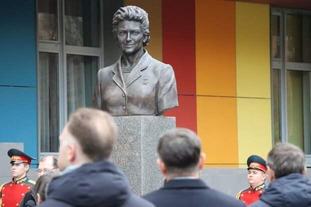 В Хорошевском районе открыли памятник советской разведчице