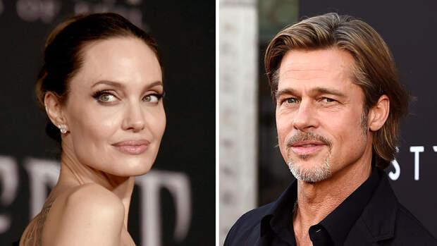 Трое детей Джоли и Питта хотели выступить против отца в суде