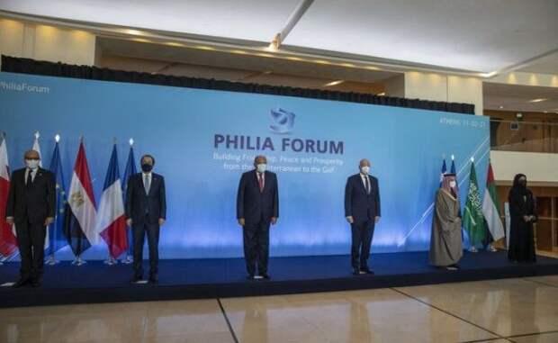 Анкара назвала форум семи стран вАфинах «антитурецким альянсом»