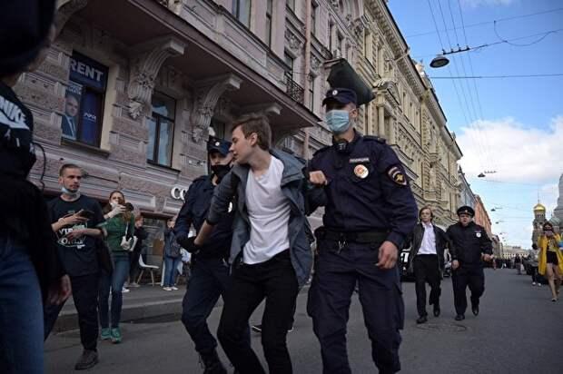 Акция вСанкт-Петербурге