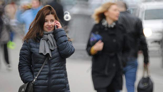 Кратковременные дожди и сильный ветер ожидаются в Подольске в понедельник