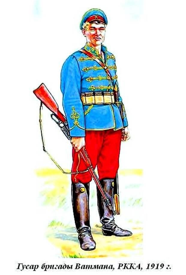 Интересная форма войск Красной армии.