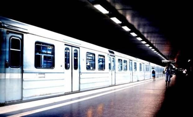 Поезд Silverpilen.