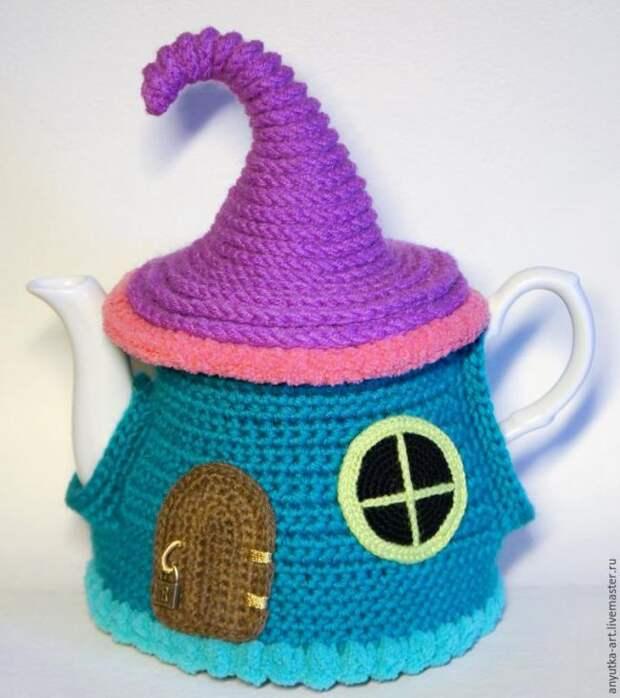 Грелка на чайник «Сказочный домик»