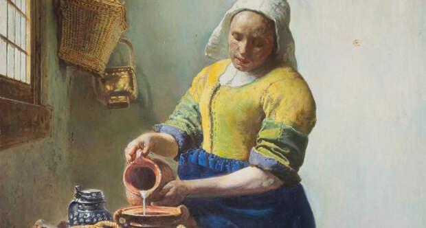 Montoya vermeer la lechera 16x9