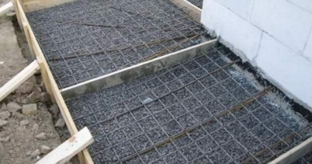 Арматурная сетка усилит прочность бетона