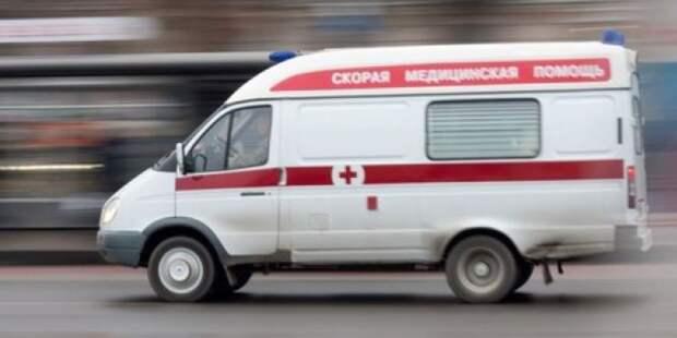 В Москве произошло ДТП с участием автобуса
